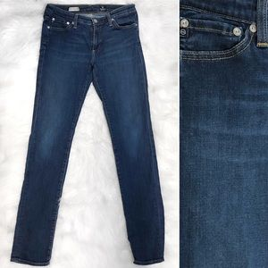 AG Premiere Skinny Straight Jeans EUC
